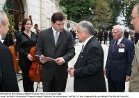 Uroczysty koncert w Pałacu Prezydenckim w Warszawie