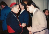 Jego eminencja ksiądz kardynał Józef Glemp - Prymas Polski senior